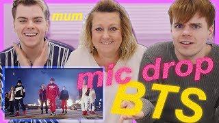 Download Lagu Our Mum's reaction to BTS MIC Drop - Steve Aoki Remix MV | (방탄소년단) Gratis STAFABAND