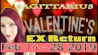 "SAGITTARIUS ""YOU WILL HEAR FROM THEM""  February 14 - 28th Ex Return love tarot reading"