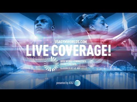 2015 World Gymnastics Championships - U.S. Women's Podium Training