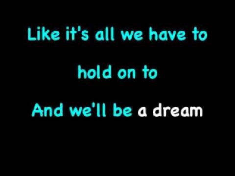 We'll be a dream - We The Kings ft Demi Lovato (karaoke+lyrics)