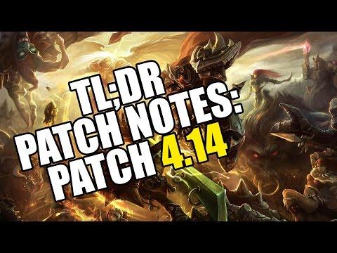TL;DR Patch Notes 4.20 - League of Legends. ТЛ;ДР Патч Нотес 4.20 - Леагае