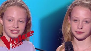A Great big World Ft. Christina Aguilera - Say Something | Abby & Sarah | The Voice Kids...