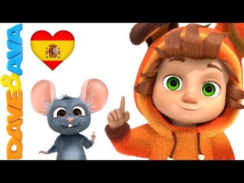👆 Сanciones Infantiles   Canciones Infantiles en Español de Dave y Ava   Un Dedito Parte 2 👆