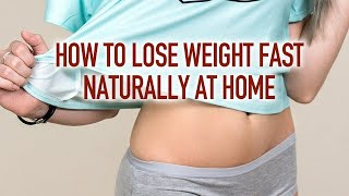 How To Lose Weight Fast Naturally At Home   Kalusugan Channel