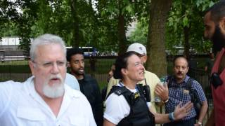 Police & Jays Circle of Lies | **Conclusion at End** | Mohammed Hijab Vs Jay Smith | Speakers Corner