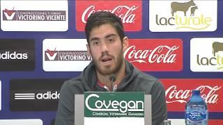Rueda de prensa de Roberto Santamaría
