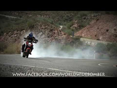 KTM 1290 Super Duke R test ride from Hell by Bomber Magazine