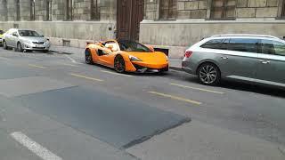 McLaren 570s Coupé in Budapest!!!😱😱😱😱