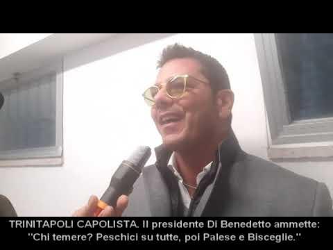 """TRINITAPOLI-CAPOLISTA. Il presidente Di Benedetto. """"Il Peschici, l'avversario più temibile"""""""
