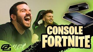 FORTNITE ON CONSOLE!!! (OpTicPlays)