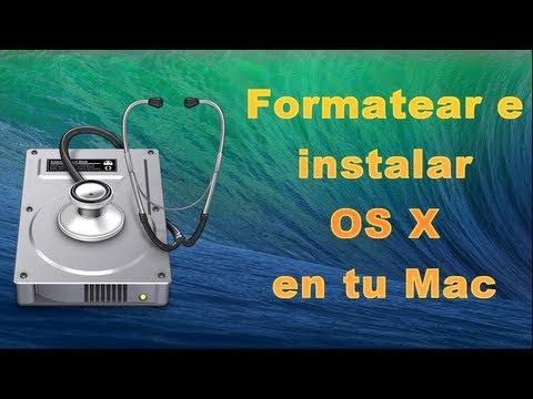 Formatear tu Mac e instalar OS X de nuevo [TUTORIAL]