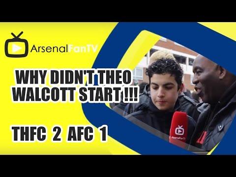 Why Didn't Theo Walcott Start !!! - Tottenham 2 Arsenal 1