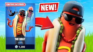 New Hotdog Skin & Squad Arena! (Fortnite Battle Royale)