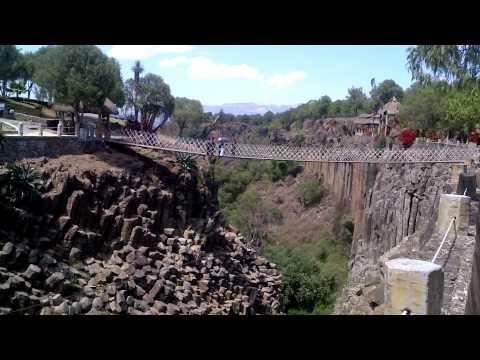 Huasca de Ocampo Prismas Basáltica