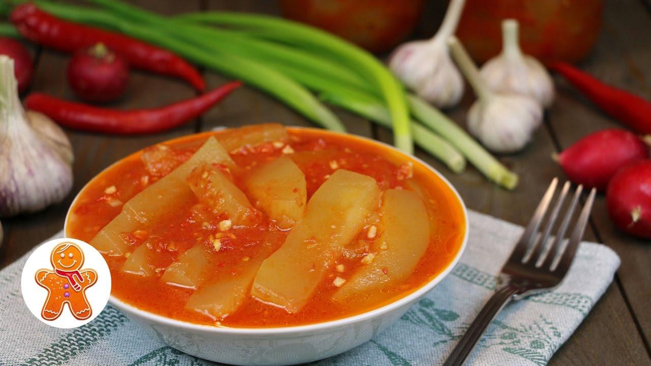 Тещин язык рецепт заготовки пошагово
