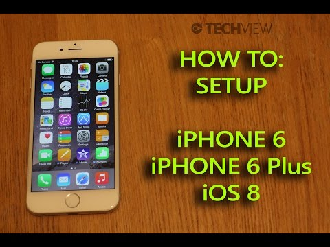 Apple iPhone 6 / 6 Plus iOS 8 Set up guide