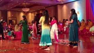 Faria's Mehndi Dance