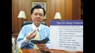 Tips To Sleep Better - Dr Willie Ong Health Blog #21