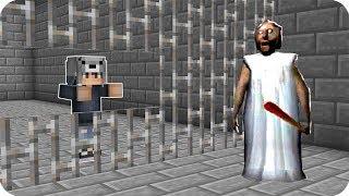 KORKUNÇ BÜYÜKANNE BENİ HAPİSE ATTI! 😱 - Minecraft