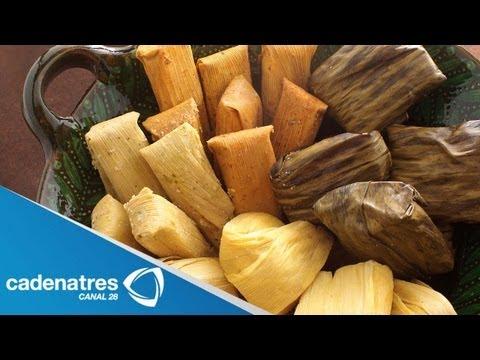 Receta para preparar tamales de acelga. Receta de tamales / Comida mexicana