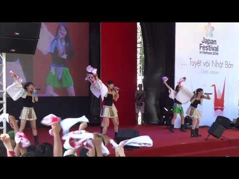 Dela at Japan Festival in VietNam 2014 (part 2)