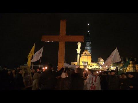 Symbole Światowych Dni Młodzieży W Częstochowie