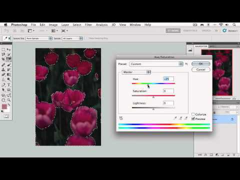 Photoshop ders. Making Selections; 2.3