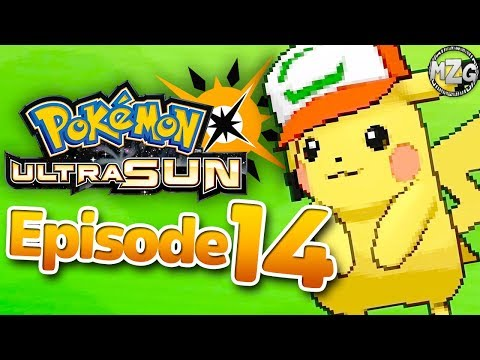 Pikachu Gift!! - Pokemon Ultra Sun and Moon Gameplay - Episode 14