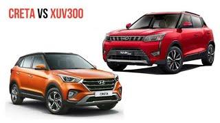 # Mahindra XUV 300 vs Hyundai create |A must watch video |