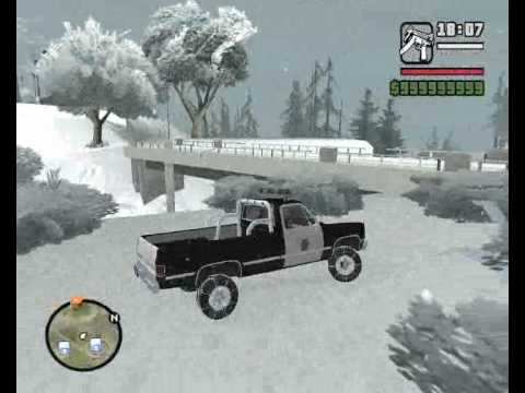 Grand Theft Auto San Andreas Snow Mod