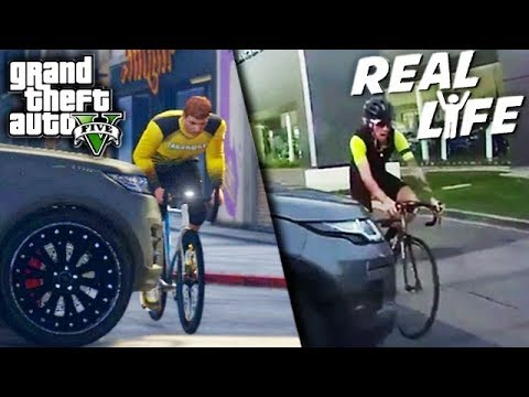 GTA 5 VS REAL LIFE TOP 1 ! (fun, fail, stunt, ...)