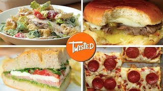 15 Tasty Back To School Lunch Ideas | Best Sandwich Recipes | Twisted