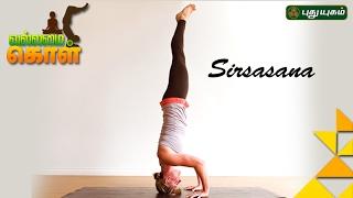 Yoga poses, Sirsasana | VallamaiKol | Good Morning Tamizha 15-02-2017 Puthuyugam Tv