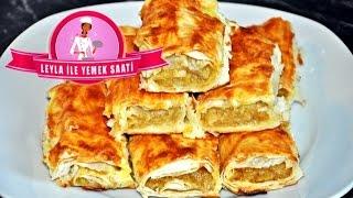 Patatesli Çıtır Börek Tarifi - Leyla ile Yemek Saati