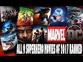 All 9 Superhero Movies Of 2017 Ranked Worst To Best mp3