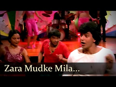 Zara Mudke Mila Aankhein - Mithun - Kim - Disco Dancer - Bollywood Hit Songs - Bappi Lahiri video