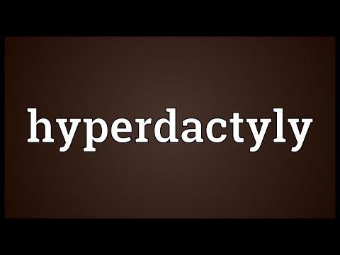 Header of hyperdactyly
