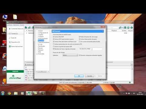 como acelerar descargas en utorrent 3.1.3 al maximo