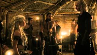 Khal Drogo Killing Viserys - A Crown For A King - Game of Thrones 1x06 (HD)