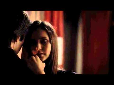 Tvd The Vampire Diaries 4x07 Delena Damon & Elena Bed sex Scene video
