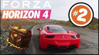 FORZA HORIZON 4 -  2# TREASURE HUNT - LOCATION - WHAT TO DO - URUS REWARD - GAMEPLAY - FH4