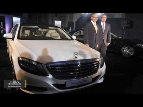 Mercedes Benz India Sales Up 25% - TOI