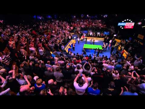 Ronnie O'Sullivan vs Barry Hawkins - 2013 WSC Final - Final Frame 30