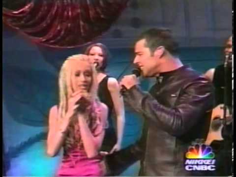 Ricky Martin and Christina Aguilera interview