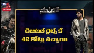 Most awaited Saaho Estimated Pre Release Collections | TV5