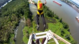 Base Jumps  Base Dreams!!! Отважные парни