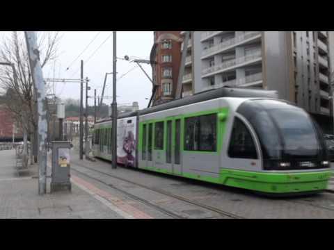 El-sporvogne i Bilbao