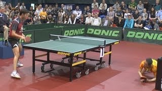 TAN Ruiwu vs Vladimir SAMSONOV FINAL 2of3 Games Russian Premier League Playoff Table Tennis