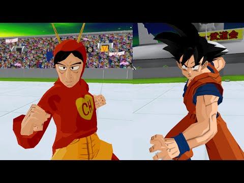 El Chapulin Colorado Vs Goku  | Dragon Ball Z Budokai Tenkaichi 3 (mod) video