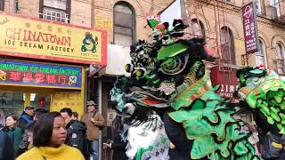 New York Lion Dance 2019 GLC GOLDEN LION CLUB múa lân 舞狮